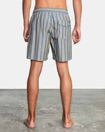 "2 Perry Elastic Boardshorts 17"" Blue AVYBS00126 RVCA"