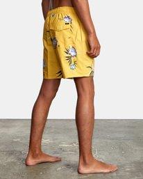 "5 Perry Elastic Boardshorts 17"" White AVYBS00126 RVCA"
