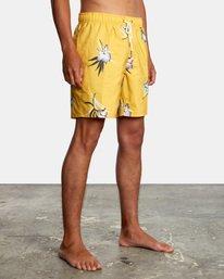 "6 Perry Elastic Boardshorts 17"" White AVYBS00126 RVCA"