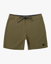 "0 VA Pigment Boardshorts 18"" Brown AVYBS00131 RVCA"