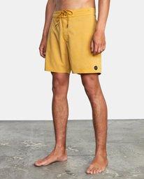 """3 VA Pigment Boardshorts 18"""" Multicolor AVYBS00131 RVCA"""