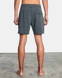 "2 VA Pigment Boardshorts 18"" Orange AVYBS00131 RVCA"