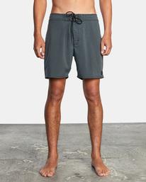 "1 VA Pigment Boardshorts 18"" Orange AVYBS00131 RVCA"