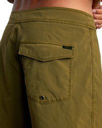 "7 VA Pigment Boardshorts 18"" Brown AVYBS00131 RVCA"