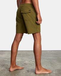"5 VA Pigment Boardshorts 18"" Brown AVYBS00131 RVCA"