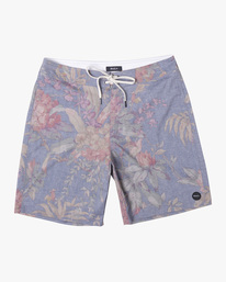 """0 Painted Valley Boardshorts 18"""" Blue AVYBS00152 RVCA"""