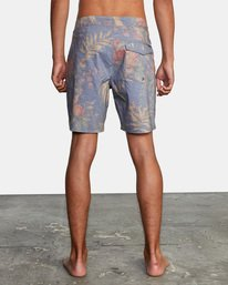 """2 Painted Valley Boardshorts 18"""" Blue AVYBS00152 RVCA"""