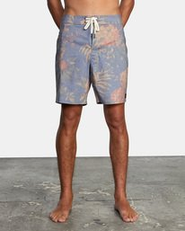 """1 Painted Valley Boardshorts 18"""" Blue AVYBS00152 RVCA"""