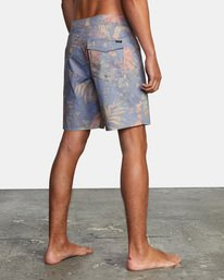 """6 Painted Valley Boardshorts 18"""" Blue AVYBS00152 RVCA"""