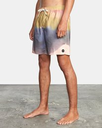"3 Dana Trippe Trippy Elastic Boardshorts 17"" Grey AVYBS00155 RVCA"