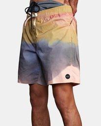 "6 Dana Trippe Trippy Elastic Boardshorts 17"" Grey AVYBS00155 RVCA"