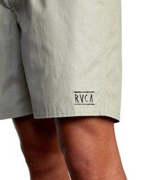 """3 Opposite Elastic 2 Boardshorts 17"""" Green AVYBS00162 RVCA"""