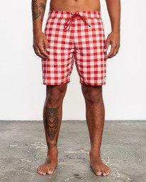 "2 Evan Mock | Palaka Boardshorts 18"" Brown AVYBS00163 RVCA"