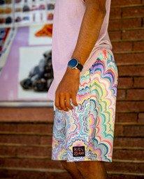"1 Kelsey Elastic Boardshorts 17"" Grey AVYBS00166 RVCA"