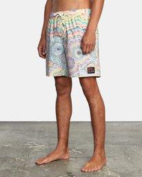 "5 Kelsey Elastic Boardshorts 17"" Grey AVYBS00166 RVCA"