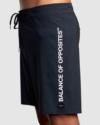 """3 Balance Boardshorts 18"""" Black AVYBS00185 RVCA"""