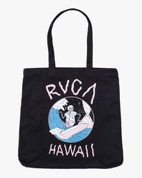 0 Luke P   Surf Tote Bag Black AVYBT00112 RVCA