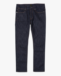 0 Americana Day Shift Relaxed Fit Denim Jeans Green AVYDP00106 RVCA