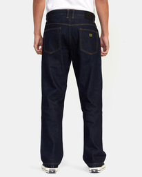2 Americana Day Shift Relaxed Fit Denim Jeans Green AVYDP00106 RVCA