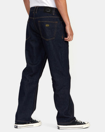 4 Americana Day Shift Relaxed Fit Denim Jeans Green AVYDP00106 RVCA
