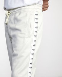 7 NORE TRACK PANT Silver AVYFB00104 RVCA