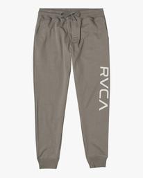 0 Big RVCA Sweatpants Green AVYFB00119 RVCA