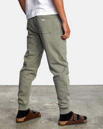5 Big RVCA Sweatpants Green AVYFB00119 RVCA