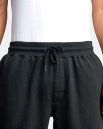7 Big RVCA Sweatpants Black AVYFB00119 RVCA