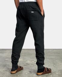 5 Big RVCA Sweatpants Black AVYFB00119 RVCA