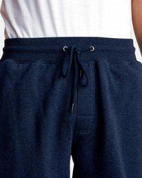 7 Big RVCA Sweatpants Blue AVYFB00119 RVCA