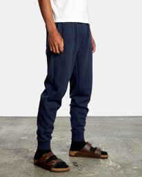 6 Big RVCA Sweatpants Blue AVYFB00119 RVCA