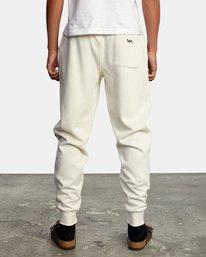 2 Big RVCA Sweatpants Silver AVYFB00119 RVCA