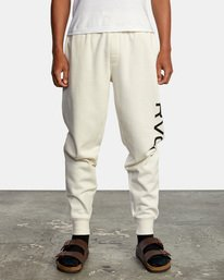 1 Big RVCA Sweatpants Silver AVYFB00119 RVCA