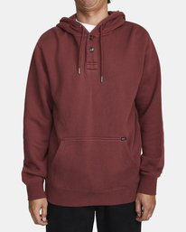 0 TORRESDALE HOODIE Red AVYFT00115 RVCA