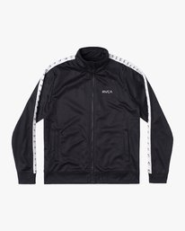 0 NORE TRACK JACKET Orange AVYFT00155 RVCA