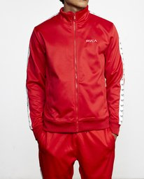 1 NORE TRACK JACKET Brown AVYFT00155 RVCA