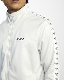 4 NORE TRACK JACKET Silver AVYFT00155 RVCA