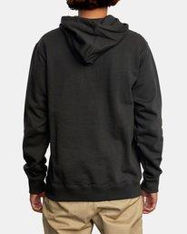 2 Concord Applique Pullover Hoodie Black AVYFT00159 RVCA