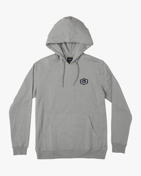 0 ISLAND HEX PULLOVER HOODIE Green AVYFT00175 RVCA