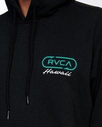 4 MAHI MAHI PULLOVER HOODIE Black AVYFT00176 RVCA