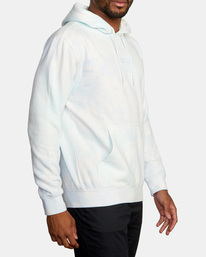 5 Tonally Tie-Dye III Pullover Hoodie Blue AVYFT00182 RVCA