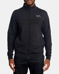 0 Trainer Track Jacket Black AVYFT00190 RVCA