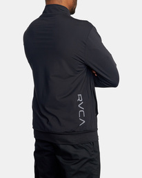 4 Trainer Track Jacket Black AVYFT00190 RVCA