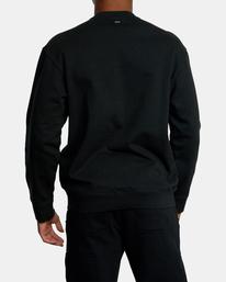 1 VA Essential Sweatshirt Black AVYFT00192 RVCA