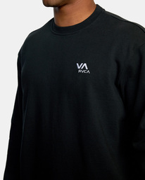 2 VA Essential Sweatshirt Black AVYFT00192 RVCA
