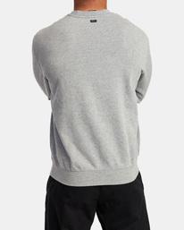 1 VA Essential Sweatshirt Grey AVYFT00192 RVCA