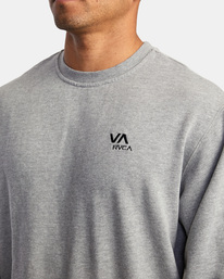 2 VA Essential Sweatshirt Grey AVYFT00192 RVCA
