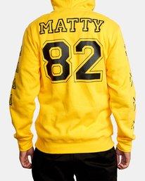 3 Matty Matheson   Matty Hoodie White AVYFT00195 RVCA