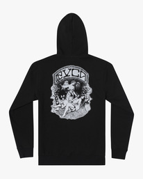 1 Kevin Ancell | St. Margret Hoodie Black AVYFT00196 RVCA
