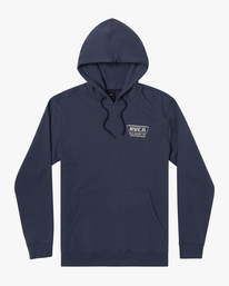 0 Clawed Hoodie Blue AVYFT00198 RVCA